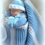 Baby Boy 0 to 6 months Sweater Coat..