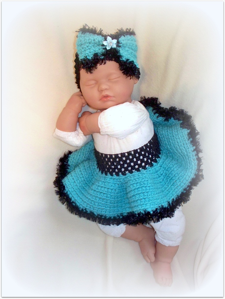 FuFuLa Skirt and Headband set for Newborn