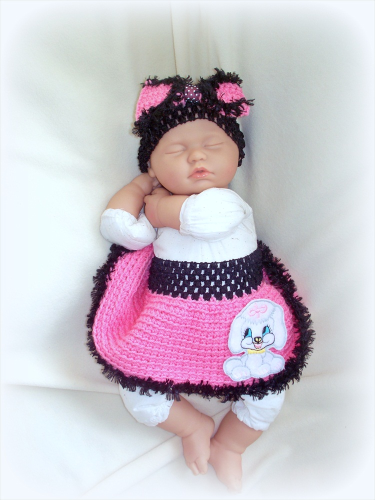 Poodle Skirt for newborn baby girl 0 to 6 months with matching bow headband  sc 1 st  Luulla & Poodle Skirt For Newborn Baby Girl 0 To 6 Months With Matching Bow ...