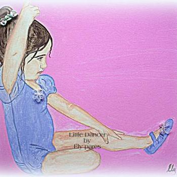 Little Dancer 8 x 10 print signed and numbered by Artist